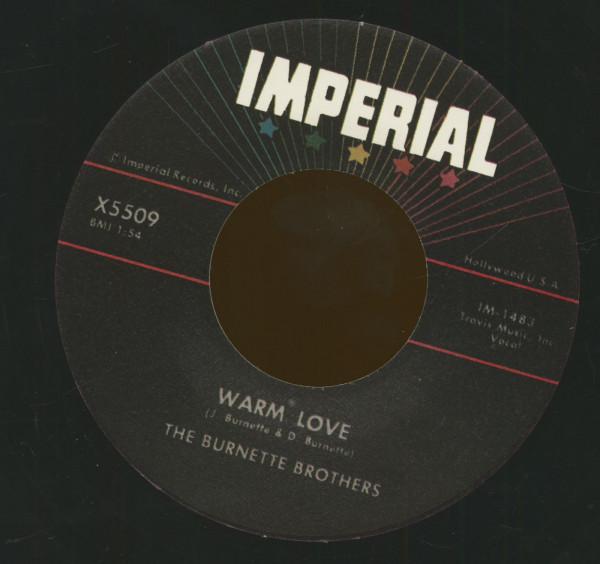 Warm Love - My Honey (7inch, 45rpm)