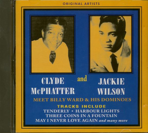 Clyde McPhatter & Jackie Wilson Meet Billy Ward (CD)