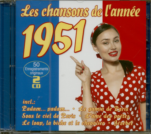 Le chansons de l'annee 1951 (2-CD)