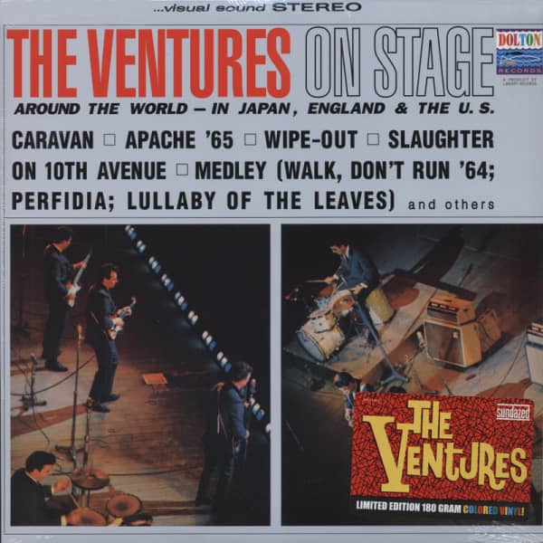 The Ventures On Stage (1969) 180g Limited Ed.