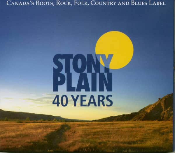 40 Years Stony Plain (3-CD)