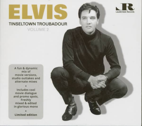 Tinseltown Troubadour Vol.2 (CD)