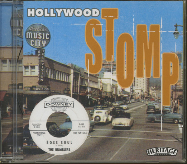 Hollywood Stomp (CD)