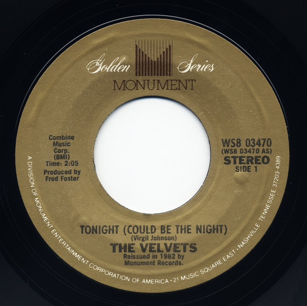 Tonight (Could Be The Night) - That... 7inch, 45rpm