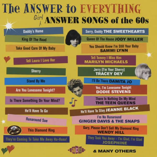 Va The Answer To Everything - Girls Answer Songs