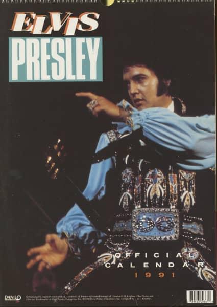 Elvis Presley - 1991 Danilo Calendar