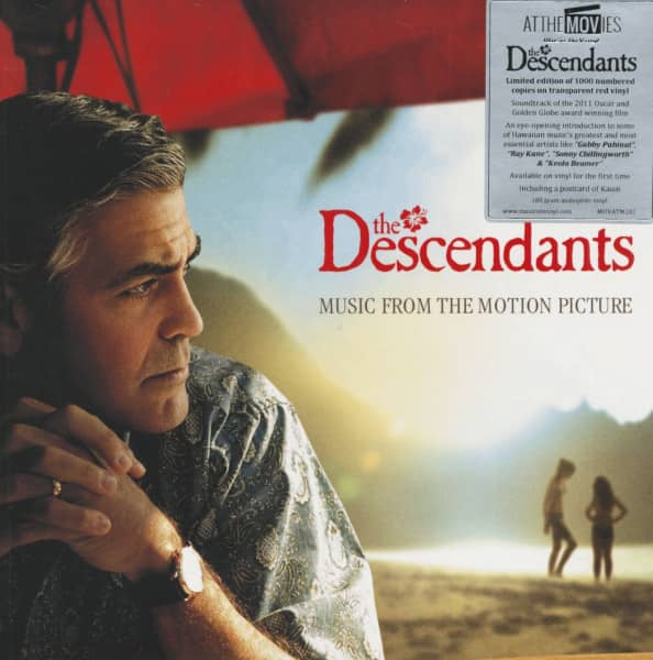 The Descendants - Soundtrack (2-LP, 180g Colored Vinyl, Ltd.)