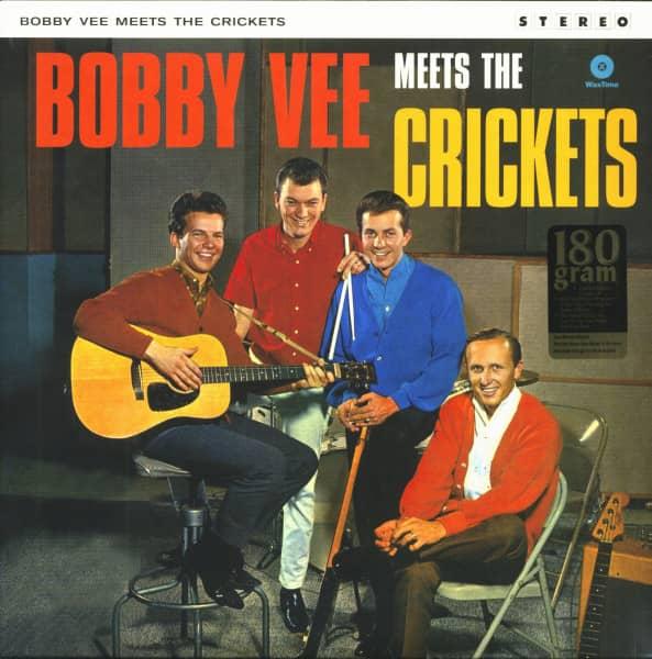Bobby Vee Meets The Crickets (LP, 180g Vinyl, Ltd.)