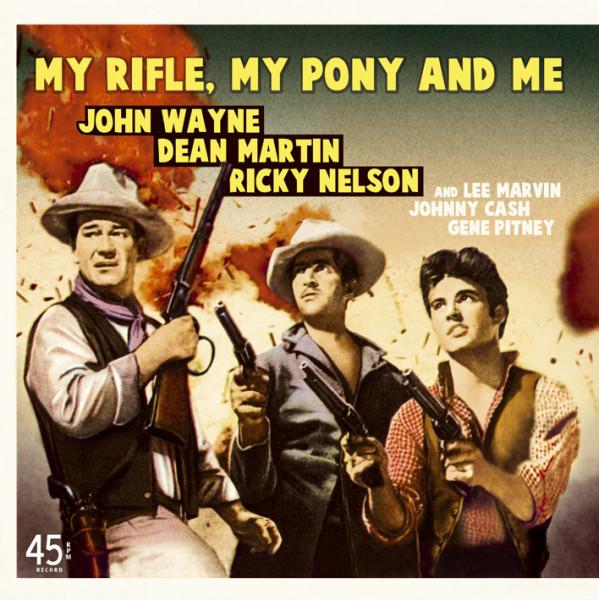 My Rifle, My Pony And Me, Wand'rin' Star b-w Bonanza, The Man Who Shot Liberty Valance