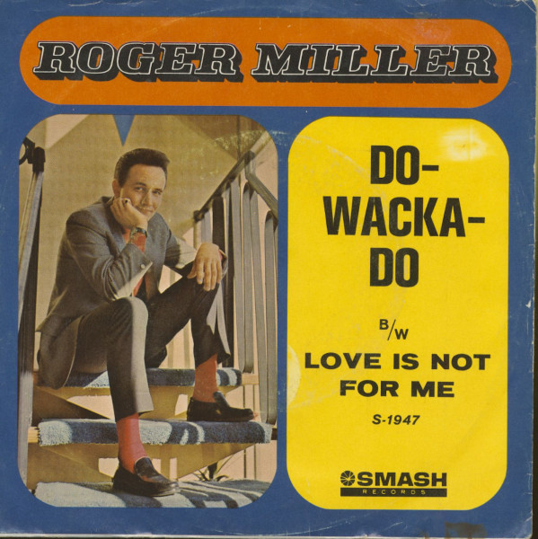 Do-Wacka-Do - Love Is Not For Me (7inch, 45rpm, PS)
