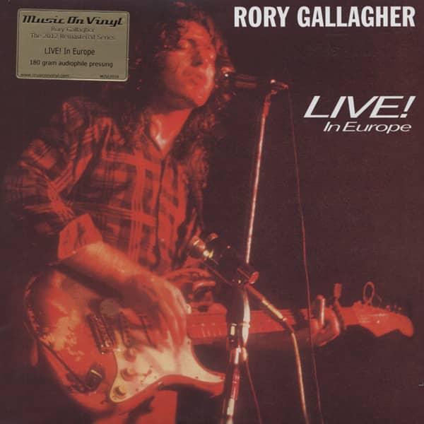 Gallagher, Rory Live In Europe (1972) 180g Vinyl