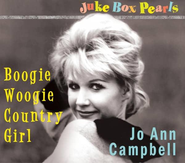 Boogie Woogie Country Girl - Juke Box Pearls (CD)