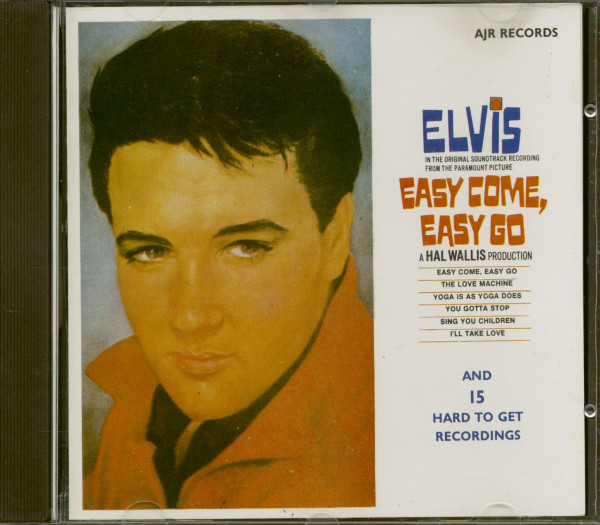 Easy Come, Easy Go And 15 Hard to Find Hits (CD)