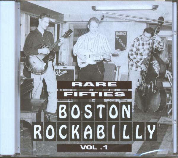 Rare 1950s Boston Rockabilly Vol.1 (CD)