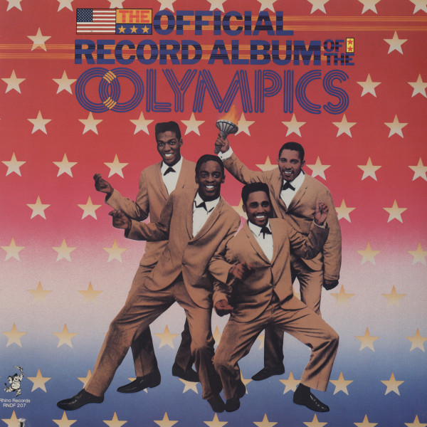 Olympics The Official Record Album - CutOut