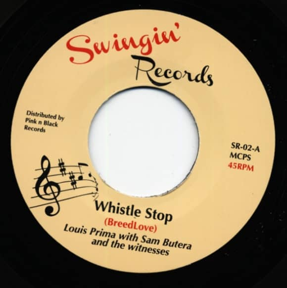 Whistle Stop b-w Tennessee Newsboy 7inch, 45rpm