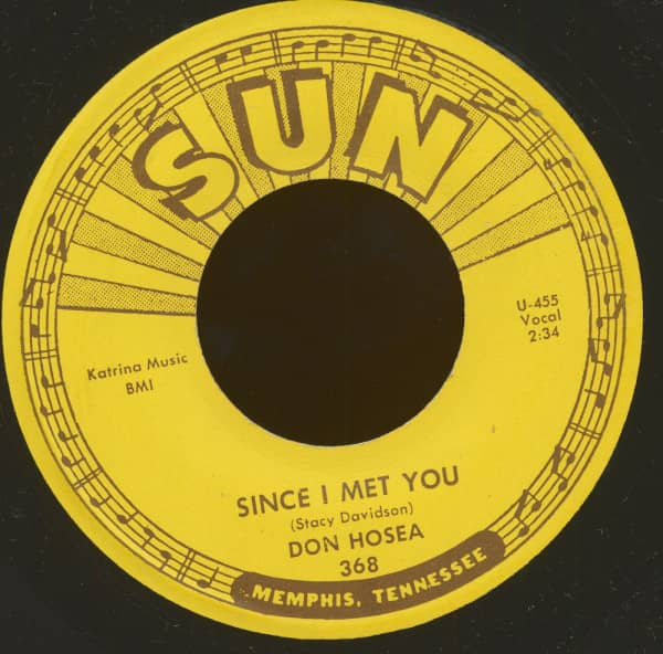 Since I Met You - Uh Huh Huh (7inch, 45rpm)