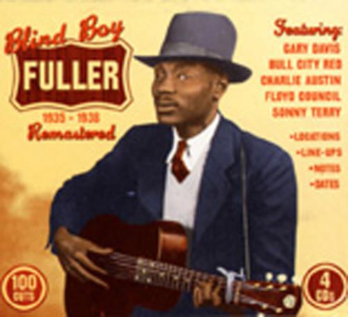 Fuller, Blind Boy Blind Boy Fuller (4-CD Box)