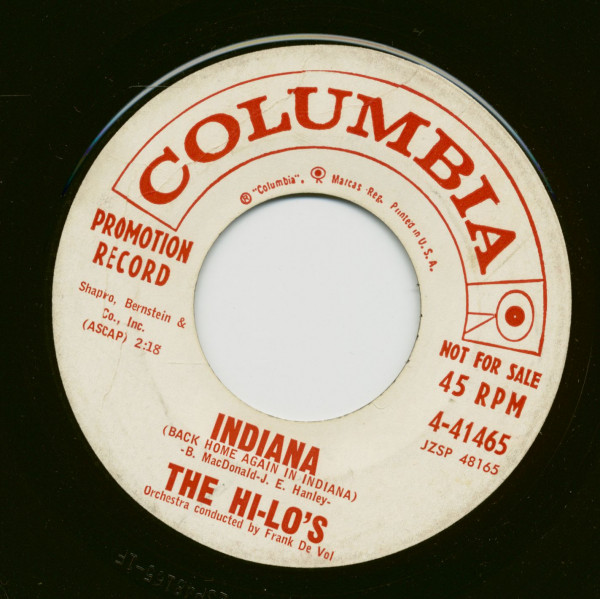 Indiana - Goody Goody (7inch, 45rpm)