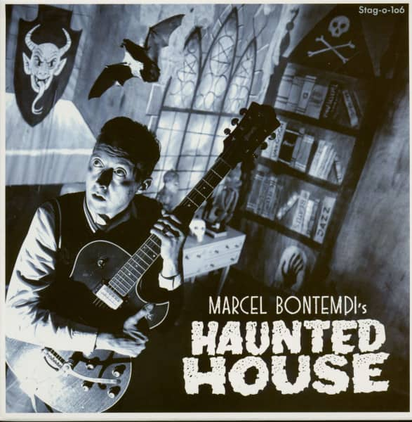 Haunted House - The Clock Strikes 3 (7inch, 45rpm, PS, Ltd.)