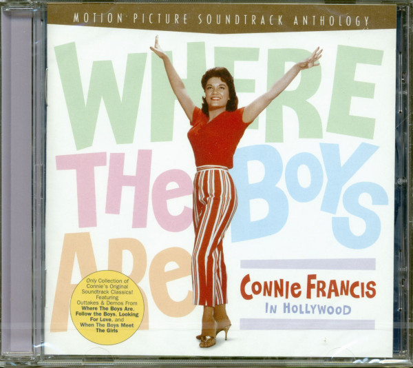 Where The Boys Are - Connie Francis in Hollywood (CD)