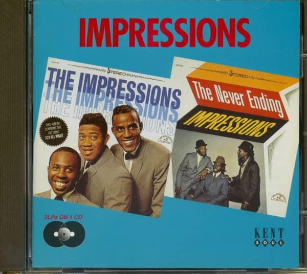 Impressions - Never Ending Impressions (CD)