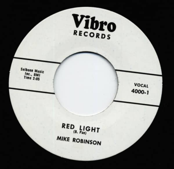 Red Light b-w Lula 7inch, 45rpm