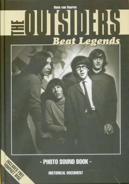 The Outsiders - Beat Legends - Photo Sound Book & CD