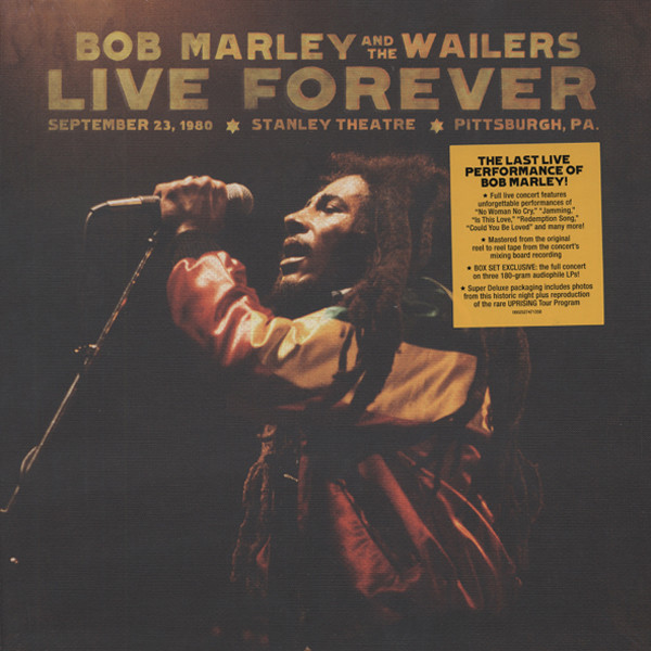 Marley, Bob & The Wailers Live Forever (3LPs & 2-CDs)
