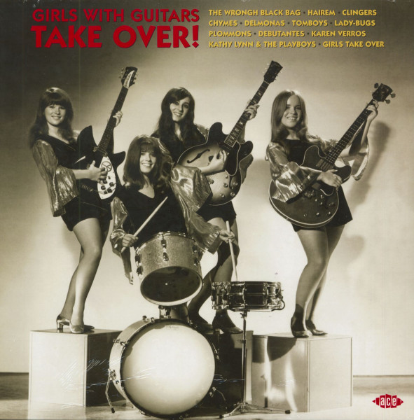 Girls With Guitars Take Over! (LP, 180g Red Vinyl)