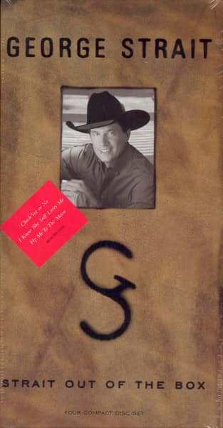 Strait, George Strait Out Of The Box 4-CD