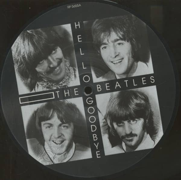Hello Goodbye - I Am The Walrus - Picture Disc (7inch, 45rpm, SC)