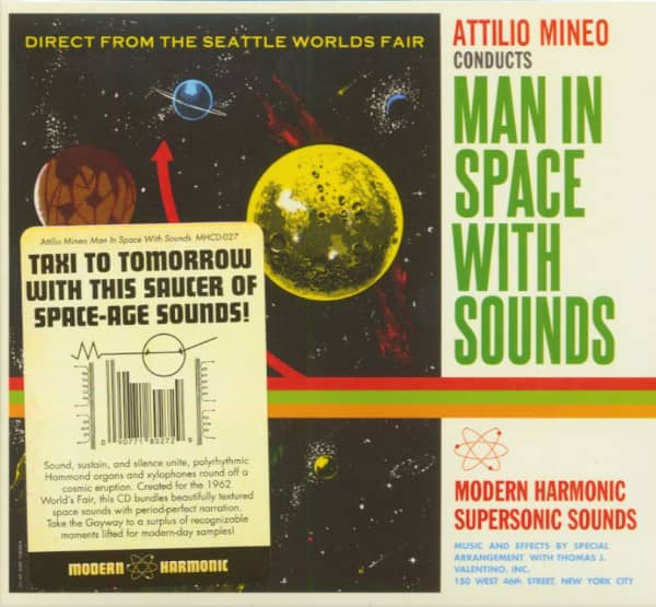 Man In Space With Sounds (CD)
