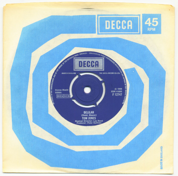 Delilah - Smile Away Your Blues (7inch, 45rpm, SC)