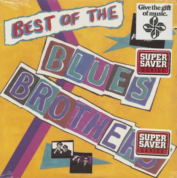 Best Of The Blues Brothers (LP, Cut-out))