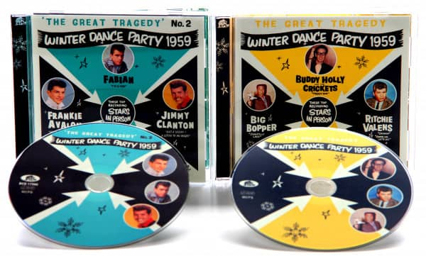 Bundle - The Great Tragedy - Winter Dance Party 1959 - No. 1 & 2 (2-CD)