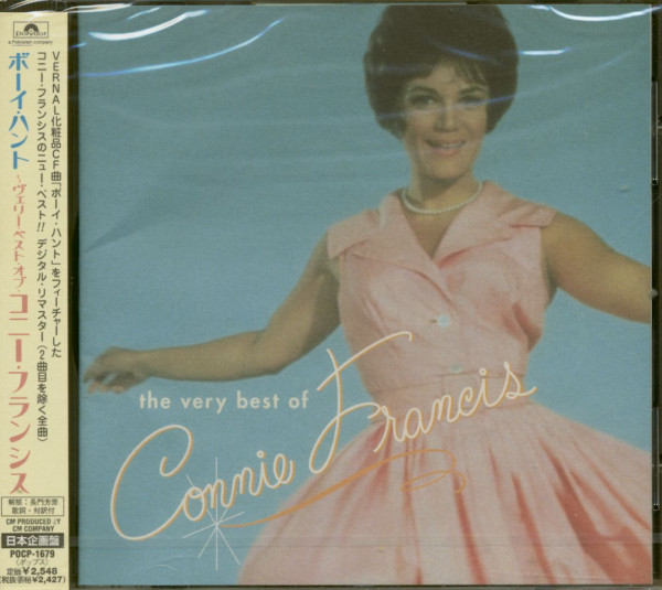 The Very Best Of Connie Francis (CD Japan)