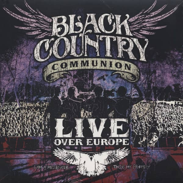Black Country Communion Live Over Europe (2-LP)