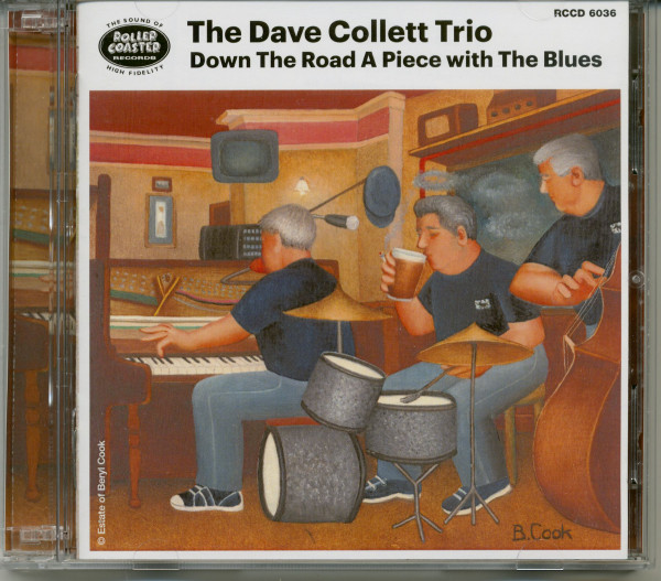 Down The Road A Piece With The Blues (2-CD)