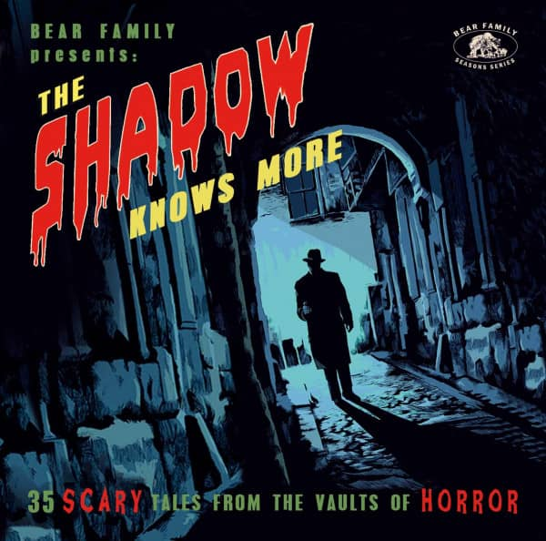 The Shadow Knows More - 35 Scary Tales From The Vaults Of Horror (CD)