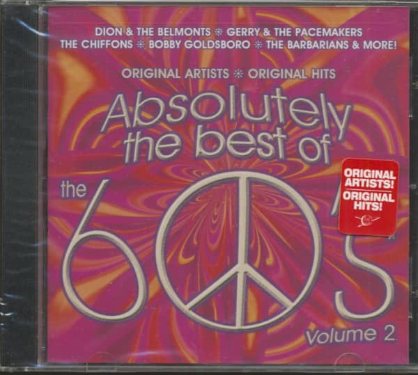 Absolutely The Best Of The 60's, Vol.2 (CD)