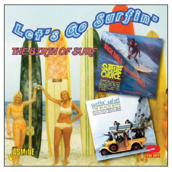 Let's Go Surfin' – The Birth Of Surf (2-CD)