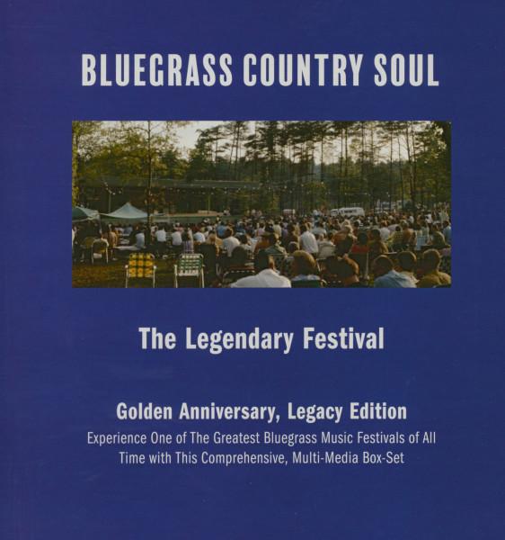 Bluegrass Country Soul - The Legendary Festival (Multi Media Box)