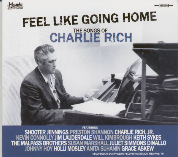 Feel Like Going Home - The Songs Of Charlie Rich (CD)