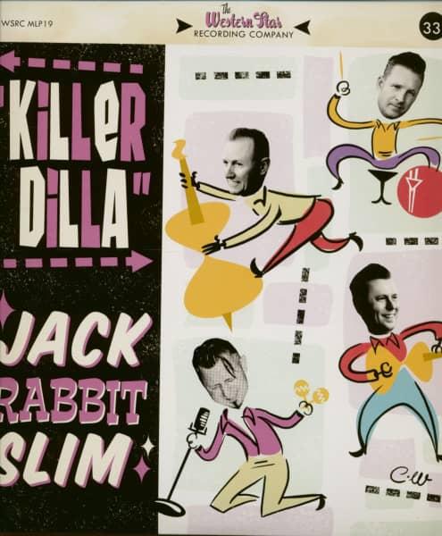 Killer Dilla (LP, 10inch, Pink Vinyl, Ltd.)