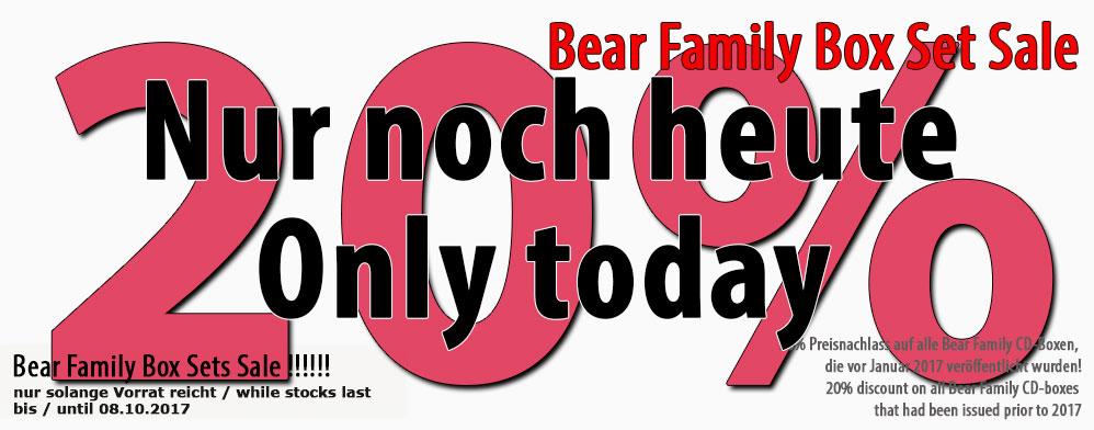 Bear Family Box Set Sale