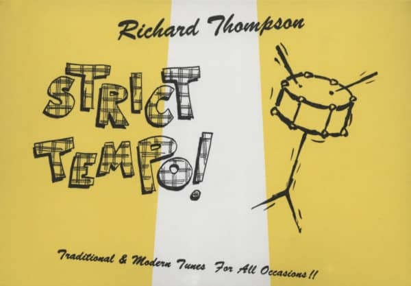 Thompson, Richard Strict Tempo (1981) Envelope Packaging