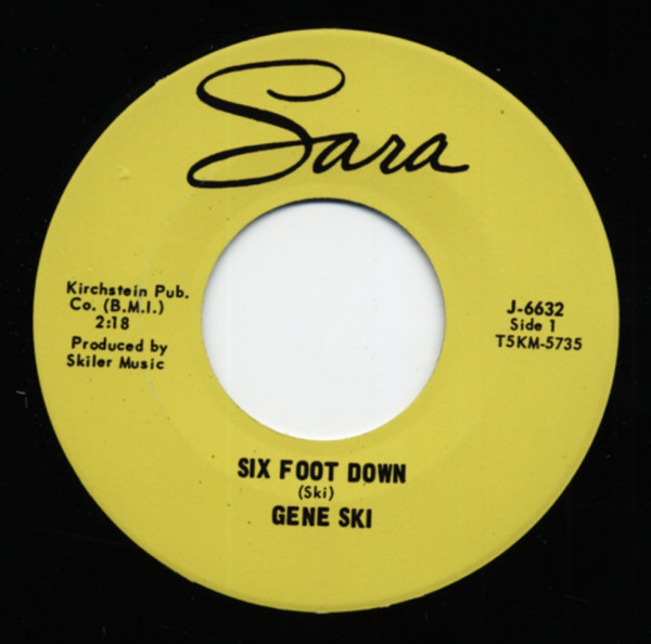 Six Foot Down - Feelin' Bad (7inch, 45rpm)