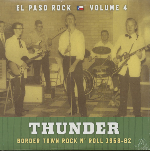 Thunder - El Paso Rock, Vol.4 - Border Town Rock 'n' Roll 1958-64 (LP)