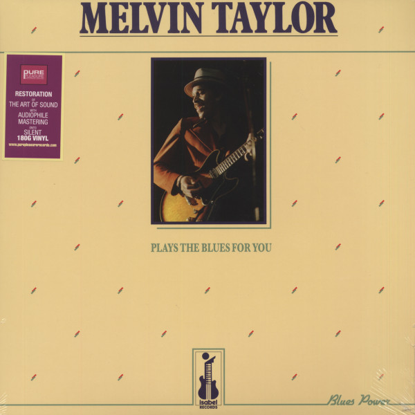 Melvin Taylor Plays The Blues For You (180g vinyl)